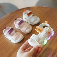 2019新款夏季男女宝宝凉鞋1-3岁幼儿时尚女童包头软底婴儿学步鞋2