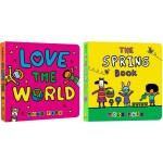 Todd Parr 淘弟有个大世界5册纸板书 英文原版 The Peace Book 宝宝情商培养 儿童家庭成长亲子教
