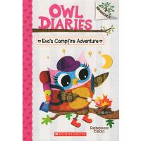 猫头鹰日记英文原版Owl Diaries #12:eva's Campfire Adventure 桥梁章节书 Scho