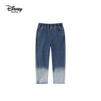 【限时秒杀价:69.3元】迪士尼2020秋装童装女童儿童卡通米妮牛仔裤宝宝洋气裤子潮