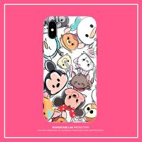 iPhoneXR卡通手机壳苹果X情侣6/7plus可爱8P女款xs/xs max硅胶6s 粉色 7p/8p