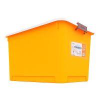 美丽雅大号收纳箱衣物棉被玩具储物箱汽车载整理箱带盖收纳盒55L