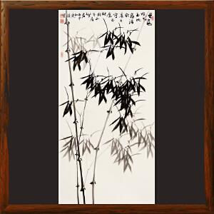 《国画-竹》李连谨R1452