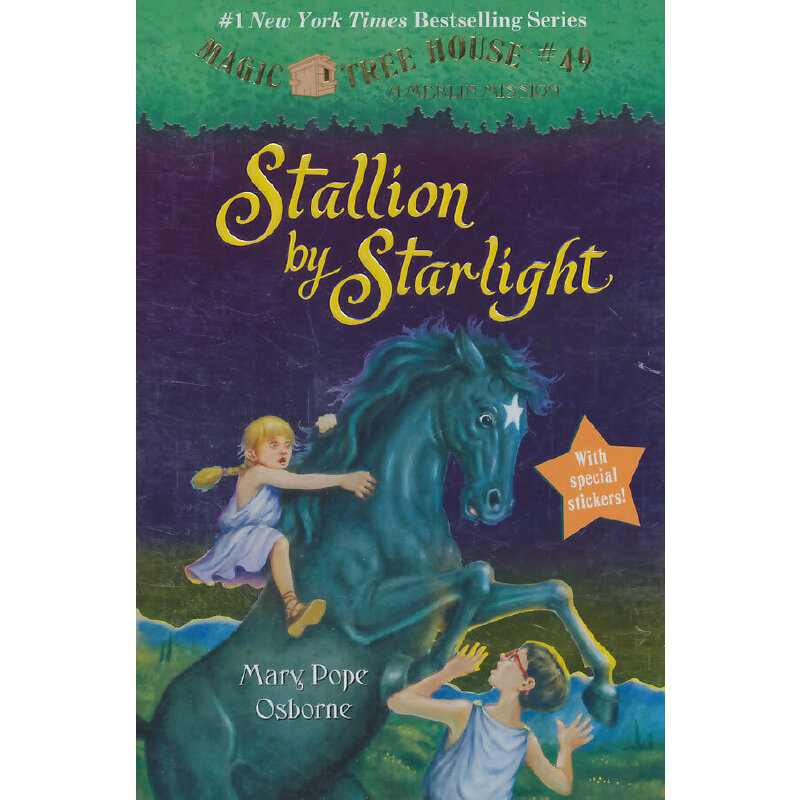 Magic Tree House #49: Stallion by Starlight神奇树屋49:亚历山大大帝和黑骏马ISBN9780307980441