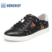 红蜻蜓旗下品牌HONCHIEF 春季新款休闲男鞋时尚男士板鞋潮流运动男鞋