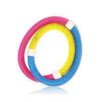 家用健身器材 弹簧软性呼啦圈 健身减肥瘦腰呼啦圈