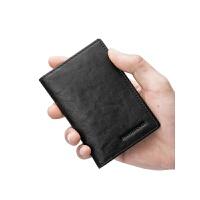 男士短款钱包竖款迷你小钱包男青年卡包皮夹牛皮男士钱夹