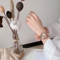 韩版水钻复古手表女时尚椭圆形细带学生文艺大表盘石英手表
