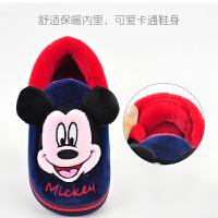 儿童棉拖鞋包跟冬季男童女童室内防滑软底小孩保暖宝宝棉鞋