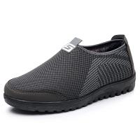 冬季老北京布鞋男爸爸鞋防滑软底中老年运动休闲鞋加绒保暖男棉鞋