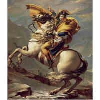 1000片木质拼图500 名画油画 拿破仑翻越圣贝尔纳山