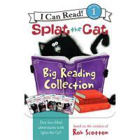 现货 英文原版Splat the Cat啪嗒猫阅读大套装 汪培�EI can read
