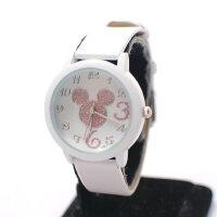 时尚石英表 卡通老鼠学生表 儿童手表 简约设计