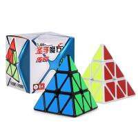 圣手传奇三角形魔方金字塔三阶小学生益智儿童玩具比赛用异形魔方配教程