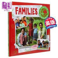 【中商原版】A Look at Life Around the World:Families 社会课看看世界各地的生活家
