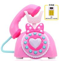 婴儿宝宝早教音乐儿童玩具电话机0-1-3岁2故事机玩具手机6-12个月c