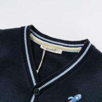 davebella戴维贝拉2020春季新款男童针织开衫宝宝毛衣DBX12746-1