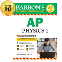 英文原版 巴朗AP物理1 Barron's AP Physics 1