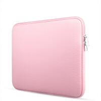 笔记本内胆包电脑保护套苹果华硕14电脑包15.6英寸macbook air13pro 嫩粉 普通版