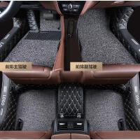 全包围丝圈汽车脚垫专用新桑塔纳福睿斯轩逸捷达名图思域速腾宝来