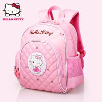 Hello Kitty凯蒂猫 KT1045A粉红 女童书包甜美淑女双肩包EVA幼儿园书包 当当自营