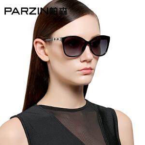 帕森偏光太阳镜女 时尚大框潮人墨镜女士司机开车驾驶镜9531