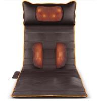 颈椎按摩器颈部腰部肩部多功能全身躺背部电动毯家用床垫靠垫椅垫