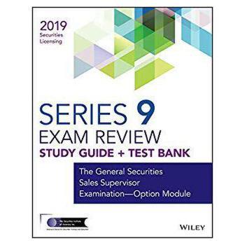 【预订】Wiley Series 9 Securities Licensing Exam Review 2019 + Test... 9781119553915 美国库房发货,通常付款后3-5周到货!