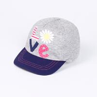 春夏儿童棒球帽 女童宝宝蝴蝶结遮阳帽鸭舌帽太阳帽