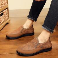 冬季男士棉鞋老北京布鞋男加绒保暖男鞋防滑中老年老人爸爸鞋