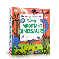 英文原版 My Encyclopedia of Very Important Dinosaurs 恐龙小百科 史前恐龙
