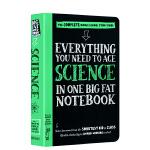 英文原版 美国中学生优等生笔记 科学 Everything You Need to Ace Science in On