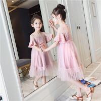 女童套装裙夏潮童装儿童裙子中大童时尚两件套裙洋气