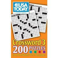【预订】USA Today Crossword 3: 200 Puzzles from the Nation's *N