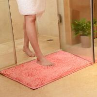 40*60CM雪尼尔卫浴吸水地垫地毯浴室卫生间门厅进门口脚踏防滑垫脚垫门垫门厅进门卧室地毯
