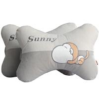 汽车头枕护颈枕靠枕一对车用颈枕车载腰靠枕头可爱车内用品