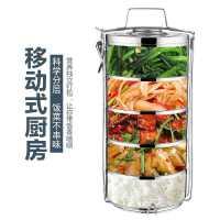 不�P��p�颖�仫�盒桶2/3/4/5多�颖惝��菜餐盒超大容量食格提�