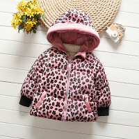女宝宝金丝绒棉衣外套加厚1-3-2-4岁小童棉袄冬季加绒婴