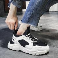 男201春季新品增高鞋子男韩版潮流运动休闲鞋加绒棉鞋百搭潮鞋