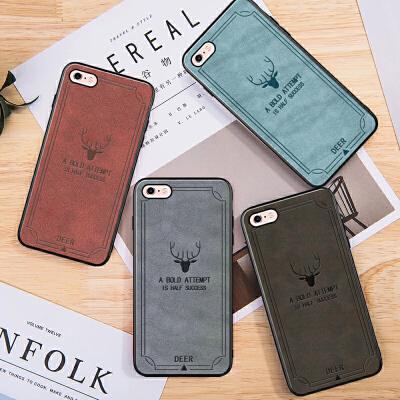 苹果6s手机壳女潮牌iphone6splus新款男ins散热同款软硅胶全包边iPhone6plus六防摔薄个性创意保护套