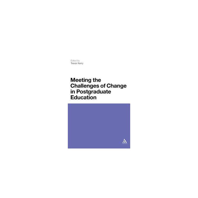 【预订】Meeting the Challenges of Change in Postgraduate Education 美国库房发货,通常付款后3-5周到货!