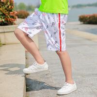 男童运动短裤夏装儿童裤子外穿中大童装薄款男孩童裤2019夏季新款