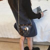 儿童包包小女孩公主时尚斜跨包潮 迷你百搭链条配饰单肩包包