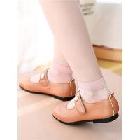 儿童丝袜女夏季薄款公主薄玻璃丝水晶短袜中大童夏天冰丝袜女童