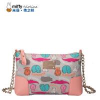 Miffy米菲 2016春夏小香风链条包女单肩包 新款单肩斜跨迷你小包