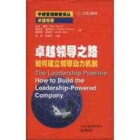 【正版二手书9成新左右】领导之路:如何建立领导动力机制 [美] 查安,[美] 德罗特尔,[美] 诺埃尔,刘华初 等 上