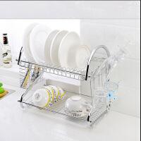 厨房用品多功能S型双层碗碟架/碗架9字型碗架餐具架/厨房收纳 Q6301-1