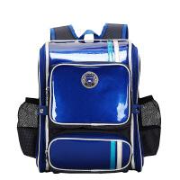 卡拉羊书包女儿童双肩包男2-3-4年级小减负护脊背包韩版校园CX2649