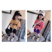 夏装女宝宝两件套儿童运动服女童装运动套装