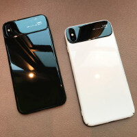 iphone Xs Max手机壳苹果X新款iPhoneXsMax玻璃iPhoneX男女款XsMax超薄7外壳8网红iPh